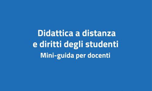 Mini-guida per docenti DaD